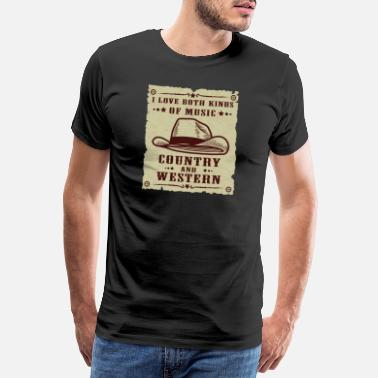 Tennessee Country And Western Music | Music | gift idea - Men's Premium T-Shirt