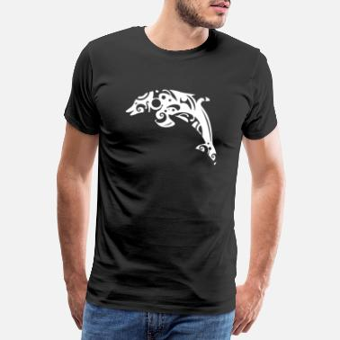 Hawaii-tattoo Maori Delphin Tribal Tattoo - Geschenkidee - Männer Premium T-Shirt
