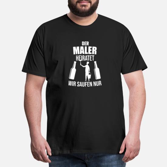 5XL JGA Ich heirate und muss dieses T-Shirt tragen Herren /& Damen T-Shirt XS