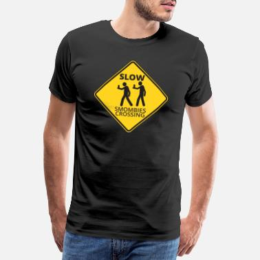 Crossing Smombies - Männer Premium T-Shirt