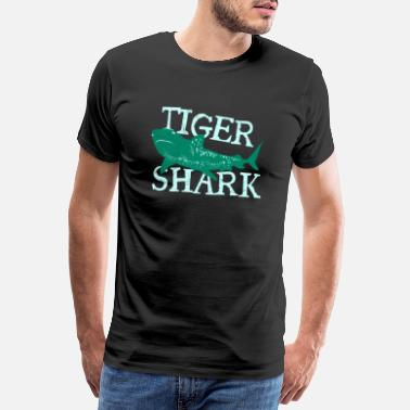Excellent Fish Tiger Shark Danger Diver Gift - T-shirt premium Homme