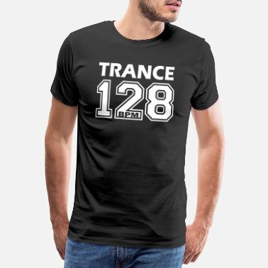 Music Trance 128 BPM - Men's Premium T-Shirt