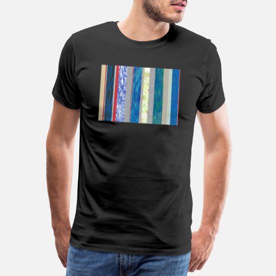 d7e73368cb Streifen blau rot Männer Premium T-Shirt   Spreadshirt