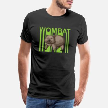 Friday For Future Wombat Environment Climate Protection Gift - Men's Premium T-Shirt