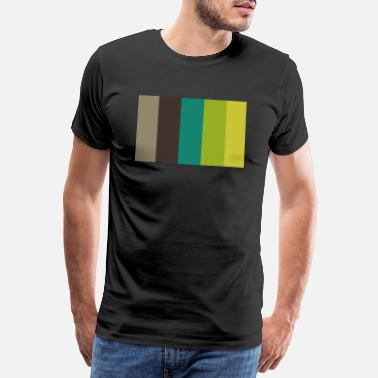 Green Bay Packers Arrowtown Taupe Genoa Citron Earls Green - Männer Premium T-Shirt