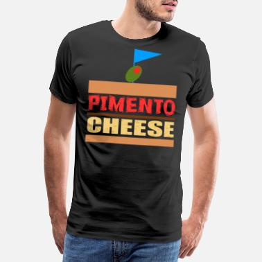 Butter Funny Cheese TShirt for people who are addicted - Men's Premium T-Shirt