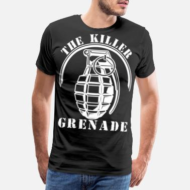 Granade The killer grenade - Men's Premium T-Shirt