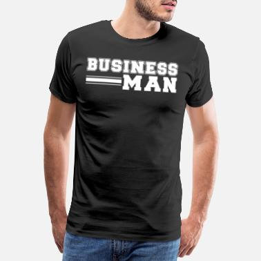 Bargain Business Man No. 9 - Men's Premium T-Shirt
