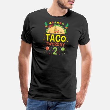 Torero Tacos Taco Twosday 2 Birthday Gift - Men's Premium T-Shirt