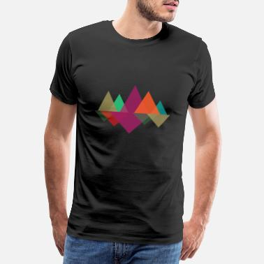 Hipster Hipster Mountains - Men's Premium T-Shirt