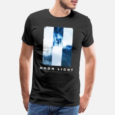 Nature Collection The Melancolic Collection - Moon Light One - Mannen premium T-shirt