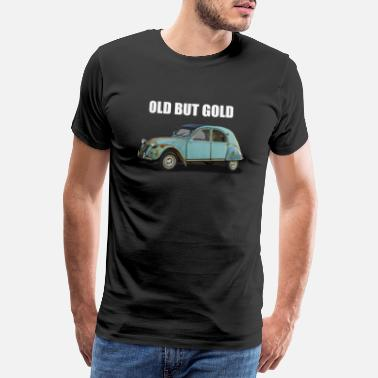 Gold old but gold auto - Männer Premium T-Shirt