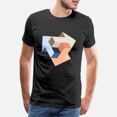 Optical Mission Impossible (Arrows Edition) - Men's Premium T-Shirt