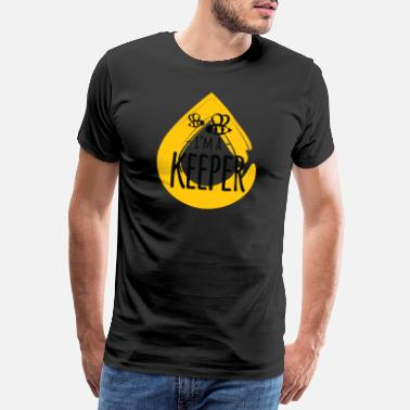 Pollinate I'm a Keeper honey animal insect beekeeper - Men's Premium T-Shirt