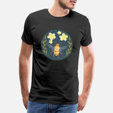 Pollen Bee honey bee beekeeper - Men's Premium T-Shirt