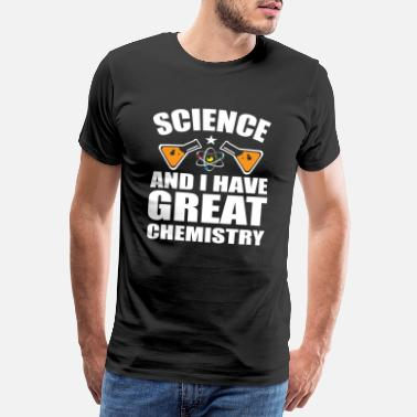 Athéisme science chimie - T-shirt premium Homme