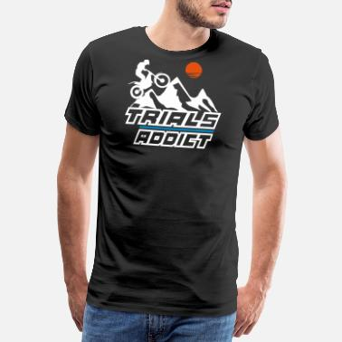 Trial trials addict - Men's Premium T-Shirt