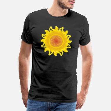 Envie De Printemps Radiant Sun Miss Sunshine Summer Stars Étoiles - T-shirt Premium Homme