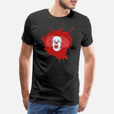 Horrorfilm Horror clown bloed - Mannen premium T-shirt