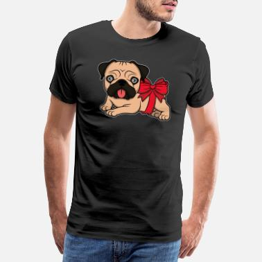 Bully Geschenk French bulldog Frenchie Bully Mama Papa - Männer Premium T-Shirt