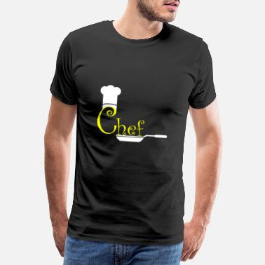 Pliers Chef - cook, chef, chef, chef gift - Men's Premium T-Shirt