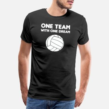 Volleyball volleyball - Premium T-shirt mænd