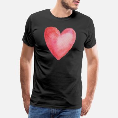 Prince Charming Heart - symbol of love, valentine's day - Men's Premium T-Shirt
