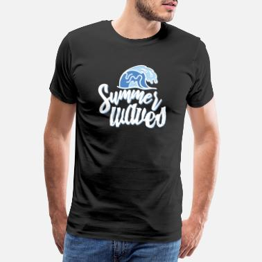 Summertime Beach, summer, summertime - Men's Premium T-Shirt