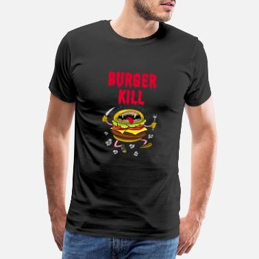 Let Down Burger kill - Men's Premium T-Shirt