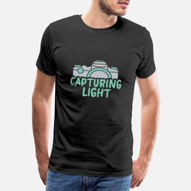 Snapshot Photography - Capturing Light T-Shirt - Men's Premium T-Shirt