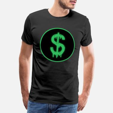Dollar Sign Money - dollars - Men's Premium T-Shirt