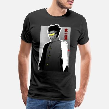Samurai Warrior Anime - Men's Premium T-Shirt
