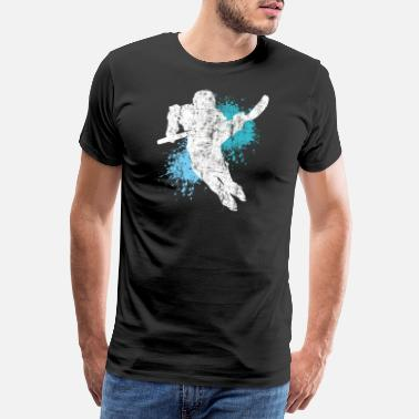 Ishockey Ishockey Spiller Hockey Wintersport Gave - Premium T-skjorte for menn