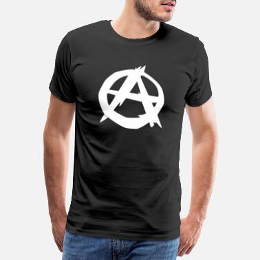 Anarchie anarchie logo - Männer Premium T-Shirt