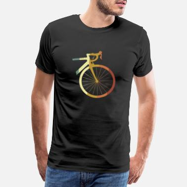 Fixie Bicycle Road Bike Cycling Fixie Bike Gift - Men's Premium T-Shirt