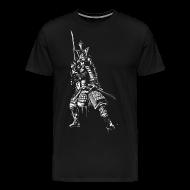 samuraj Premium koszulka męska | Spreadshirt  yYDyg