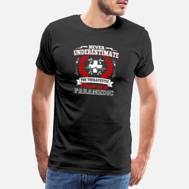 Emergency Medical Services Rescue Service Emergency Call Sani Gift · Therapy - Men's Premium T-Shirt