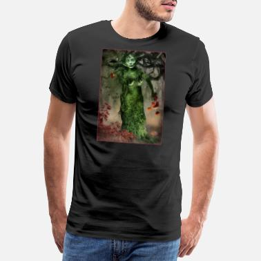 Lady Autumn - Men's Premium T-Shirt