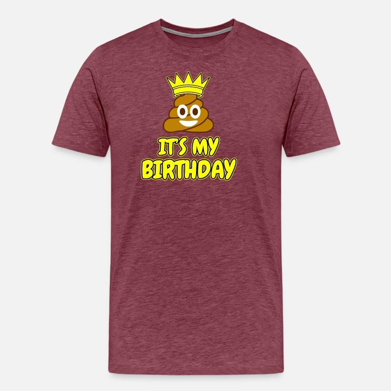 Birthday Emoji Gift Mens Premium T Shirt