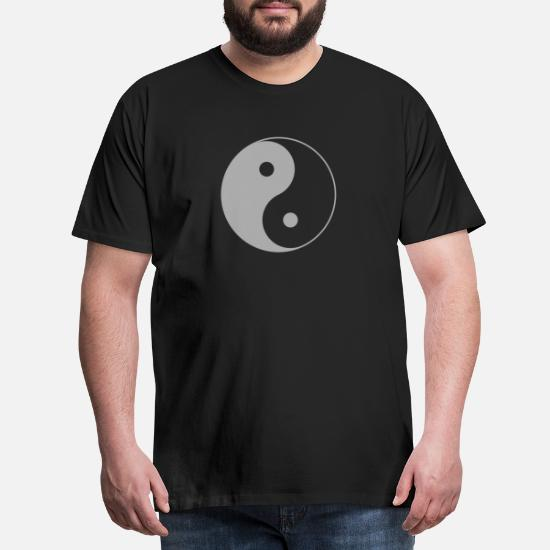 Maglietta Chi Yang Yin Cinese Tai Trasparente Simbolo Di iuOTlkwPXZ