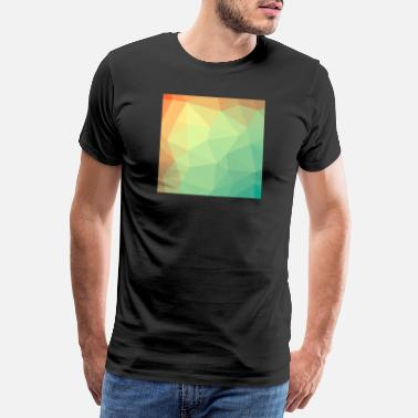 Individuellement Muster Polygon - T-shirt Premium Homme