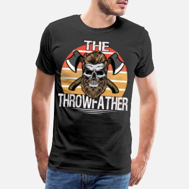 Lumber Ax Throwing - Men's Premium T-Shirt