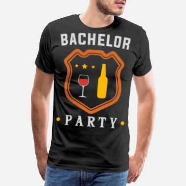 Party Time Bachelor Party - T-shirt premium Homme