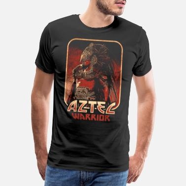 Mexico City Aztec Warriors Aztec Maya Culture Mexico - Premium T-shirt mænd
