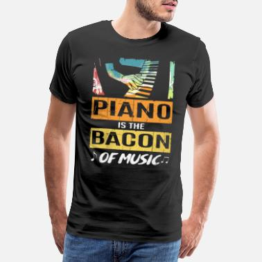 Outsider piano - Premium T-shirt herr