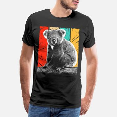 Eucalyptus Koala Bear Australia Backpacker Koala Animal Welfare - Men's Premium T-Shirt