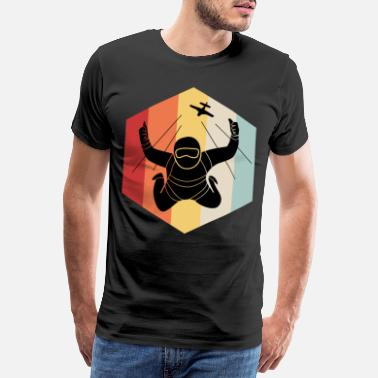 Fall Parachute parachute skydiving - Men's Premium T-Shirt