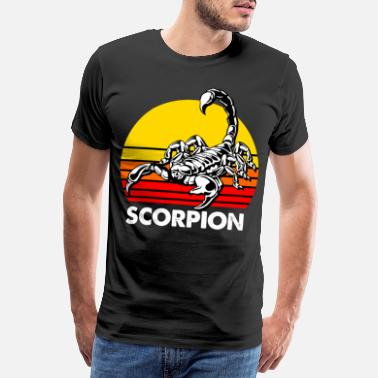 Insect Scorpio zodiac horoscope insect astrology - Men's Premium T-Shirt