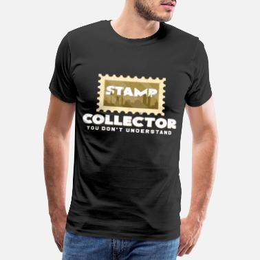 Stamp Collecting stamps - Men's Premium T-Shirt