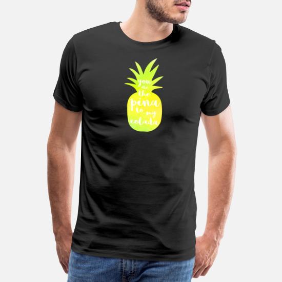 La Piña Colada Es A Mi Premium Camiseta Tee Shirts Usted qSpGUMVz